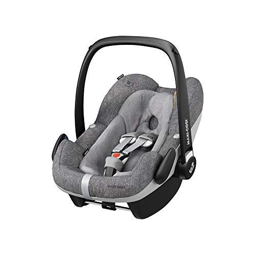Maxi-Cosi Pebble Plus Autositz für Babys Gruppe 0+, ISOFIX-Kindersitz, i-Size, 0-12 m, 0-13 kg, 45-75 cm, Nomad Grey (grau)
