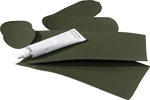 Ocean® Reparatursatz für Wathosen, Farbe:dunkeloliv