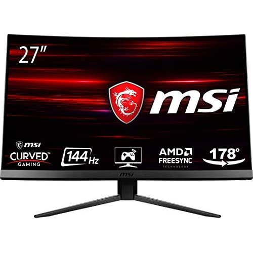 MSI Optix MAG271C LCD Monitor Gaming 27