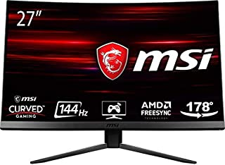 "MSI Optix MAG271C LCD Monitor Gaming 27"" Curvo, Pannelo VA, 144 Hz, 1ms (B07FGHY21Y) 