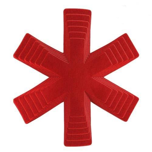 SNIIA Non-Woven Fabric Pot Pan, vliesstof materiaal tafelonderlegger antislip, krasbestendige onderlegger voor tafelpotjes en pans scheider
