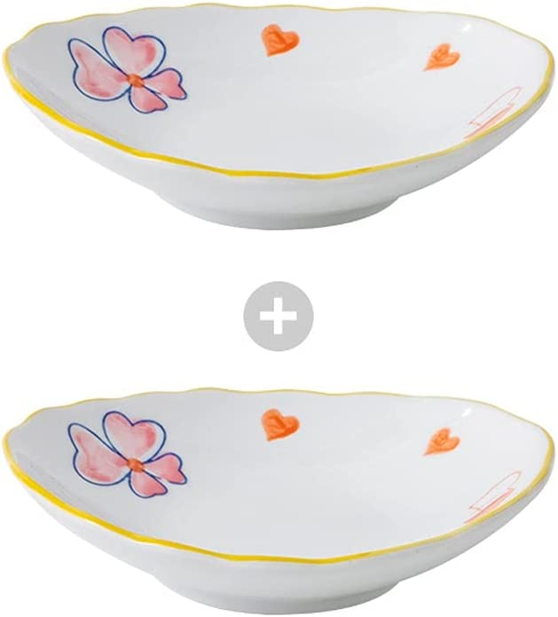 Sauce Dedication Dish Small Set Opening large release sale of Ceramic 2 Dipping Soy P
