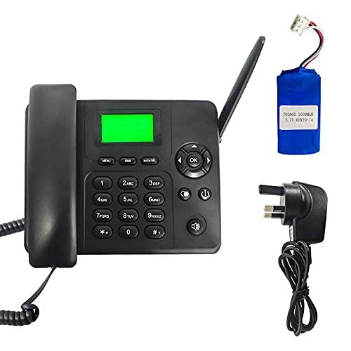 Tarjeta Wireless Quad Band GSM SIM Tarjeta Classic Solucionado Teléfono de escritorio inalámbrico - Handfree, SMS, batería recargable