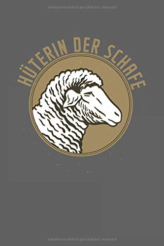 Hüter der Schafe: Punktiertes Notizbuch mit 120 Seiten zum festhalten für Eintragungen aller Art