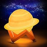 15 cm Saturne Planet Lampe,...