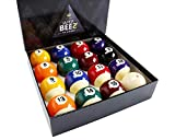 JAPER BEES Pearl Pool Balls Set Pool Table Billiard Balls