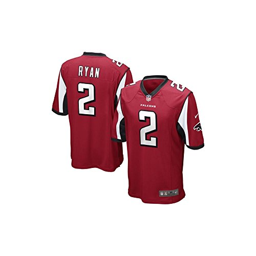 Nike Matt Ryan Atlanta Falcons Red Men's Small Game Jersey