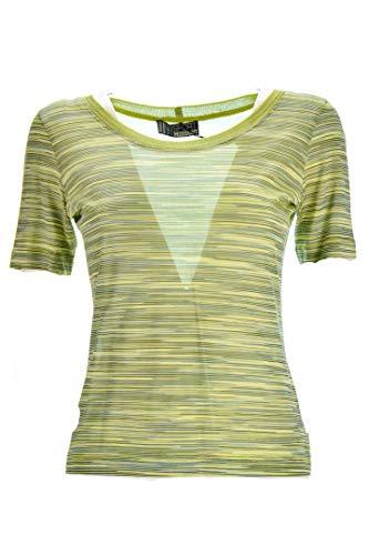 Missoni Sport T-Shirt Donna Verde Fantasia 42