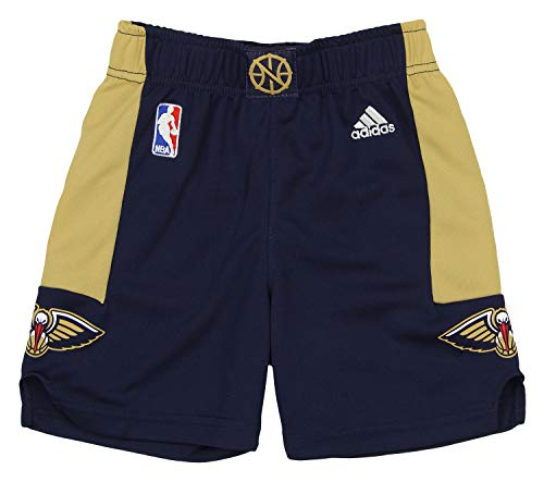 Outerstuff NBA New Orleans Pelicans Toddlers Replica Road Shorts - 4T