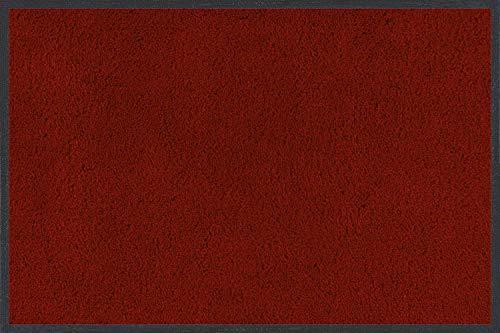 Wash+Dry Fußmatte Rubinrot 60x90 cm