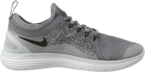 Nike Women's Free Rn Distance 2 Running, Scarpe Sportive Indoor Donna, Grigio (Cool Grey/black Wolf Grey-stealth), 37.5 EU