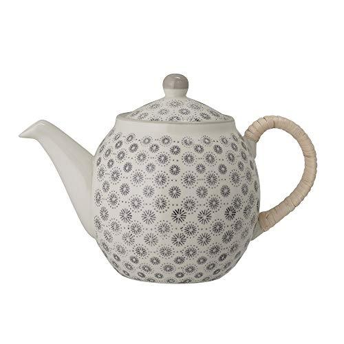 Bloomingville Teekanne Elsa, grau, Keramik