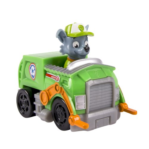 PAW PATROL – Racers – Rocky – Mini Véhicule de la Pat'Patrouille 9 cm