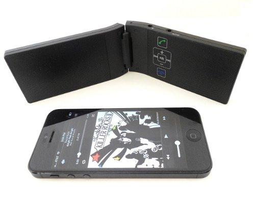 KOKKIA M10 Bluetooth Speaker : Tamaño de bolsillo, plegable, gran calidad de sonido, largo tiempo de duración y alta potencia. Altavoz Bluetooth estéreo (voz y música estéreo). Ideal para Bluetooth en