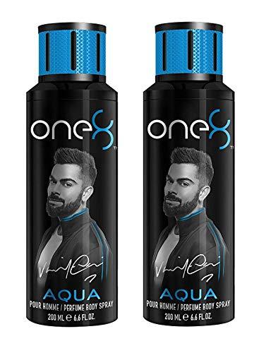 One 8 AQUA Pack of 2