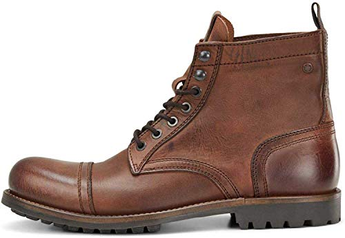 Jack&Jones schoenen JFWEAGLE leer bruin stone 12159474