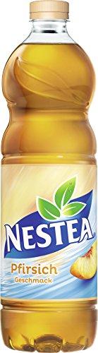 Nestea Pfirsich - Erfrischender Ice Tea mit fruchtig süßem Peach-Geschmack, Eistee 6er Pack, EINWEG (6 x 1,5 Liter)