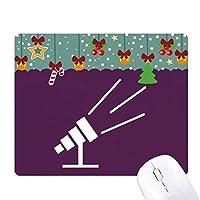 望遠鏡観測星 ゲーム用スライドゴムのマウスパッドクリスマス