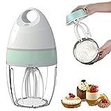 JDYDDSK Batidora eléctrica doméstica Pequeña batidora automática para batir Crema de Pastel de sobremesa para batir...