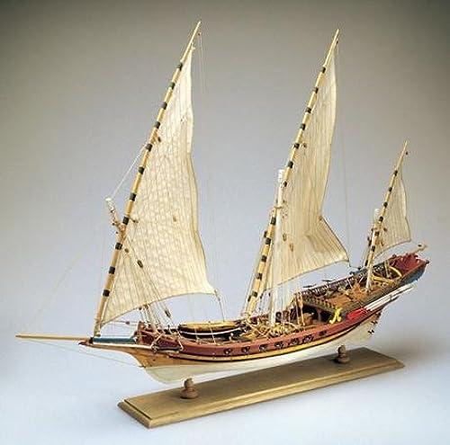 oferta especial AMATI 1427. JABEQUE Pirata áRABE. Kit MAQUETA Barco DE Madera. Madera. Madera. Escala 1 60  buena reputación