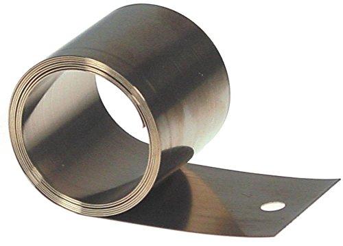 Meiko Rollfeder 7-1 für Spülmaschine Länge 870mm Breite 40mm Innen ø 36mm Laschenlänge 52mm