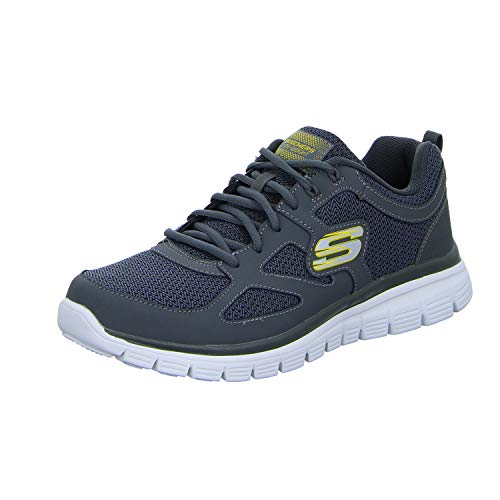 Shoe Burns Agoura Training uomo Skechers, Marina, Charcoal, 41 EU