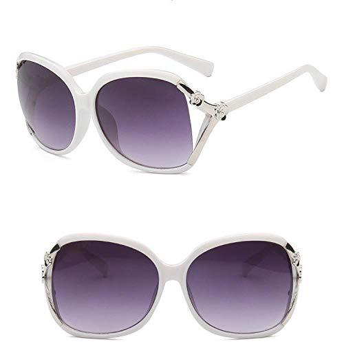chuanglanja Gafas De Sol Mujer Joven Gafas De Sol Con Lentes Degradados Gafas De Viaje De Fiesta Para Mujer Gafas De Sol Vintage UV400-Color-B
