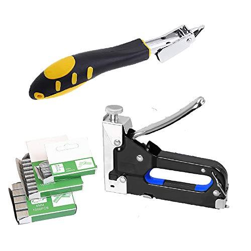 JJDD - Grapas 3 en 1 para reparación de grapas de carpintería y carpintería