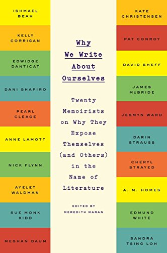 Image of Why We Write About Ourselves: Twenty Memoirists on Why They Expose Themselves (and Others) in the Name of Literature