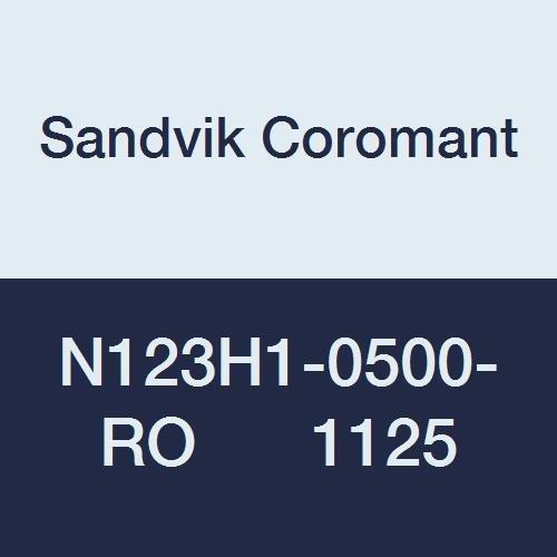 Sandvik Coromant N123H1-0500-RO 1125 Great interest CoroCut National uniform free shipping for Pr 1-2 Insert