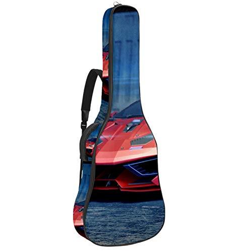 Funda para guitarra de coche 3D Generic Concept, impermeable, tela Oxford con correa ajustable para el hombro