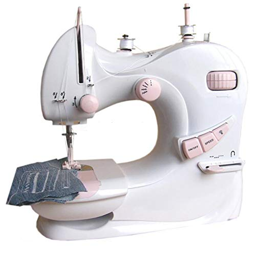 Fantastic Deal! Lood Sewing Machine -Mini Electric Sewing Machine for Beginner Adult Portable Free-A...