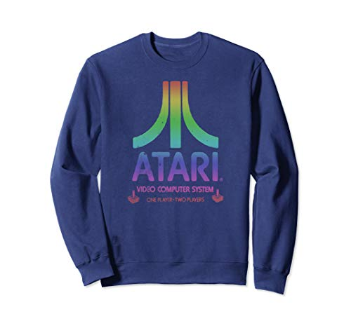 Atari VCS Rainbow Logo Sweatshirt, Unisex. 4 Colors, S to 2XL