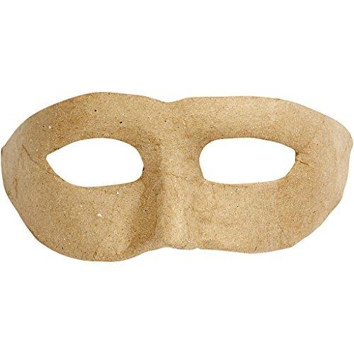 Zorro masker, b: 21 cm, h: 8 cm, 1stuk