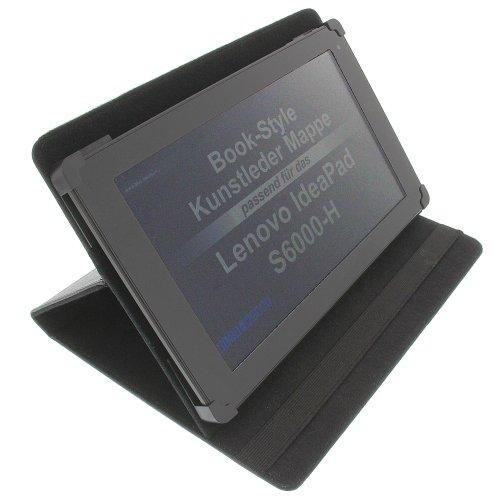 foto-kontor Tasche für Lenovo IdeaPad S6000-H IdeaPad S6000L A10-70 ThinkPad Tablet 2 ThinkPad 10 2. Gen. Miix 2 10