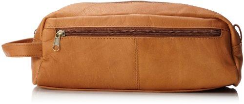 David King & Co. Große Multi Pocket Shave Kit, Tan, eine Größe