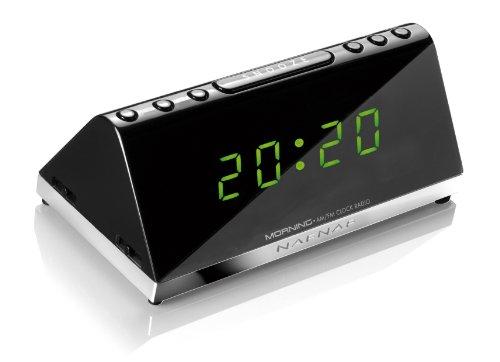 NAFNAF Morning Ultra kompakter Radiowecker