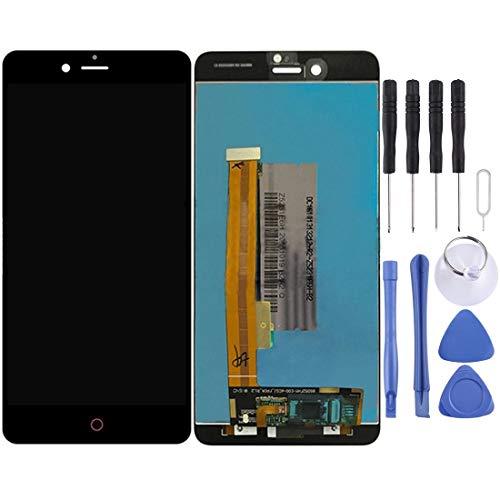 BRIDGET -Para ZTE Nubia Z11 Minis / NX549J Pantalla LCD y digitalizador Asamblea Completa (Negro) HD (Color : White)