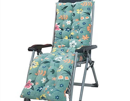 Cojín grueso para tumbonas de jardín, respaldo alto, funda de asiento de silla de 2/3 plazas, cojín de repuesto para silla de tumbona, alfombrilla para tumbona, sofá de interior, tatami, ventana/piso