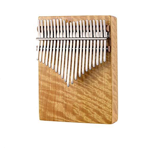 LIERSI Holz Kalimba 21 Key Hollow Mbira Calimima Thumb Piano Keyboard Hluru Musikinstrument Mit Zubehör