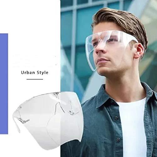 Pack 2 -Transparent Glasses Designed Fashion Style & Comfort M+L