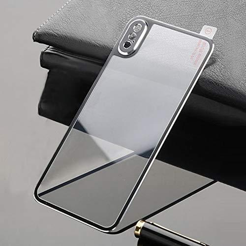 Xyamzhnn Teléfono móvil Protector de Pantalla de Cine Protector for el iPhone XS/iPhone X - Vidrio Templado de la película de Cobertura Total - El Material actualizado diseño aleación de t