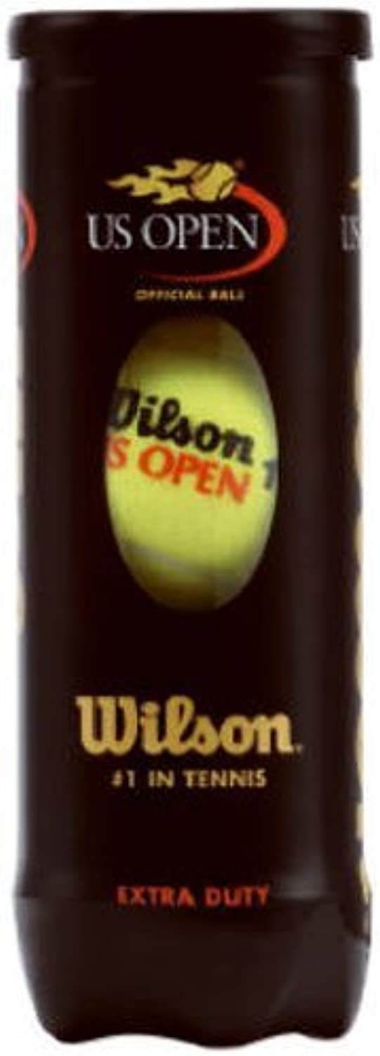 Wilson US Open Extra Duty Tennis Ball (Single Can) by Wilson