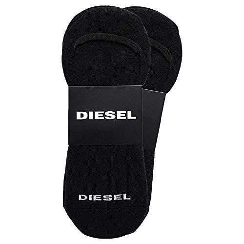 Diesel Füßlinge 2er Pack - SKM-NOSHOW-TWOPACK, Invisible Socks, Unisex, Onesize Schwarz