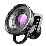 LJJOO Kits de Lentes de cámara Profesional de Lentes de teléfono HD, Lente Macro de 30-80 mm para la mayoría de los teléfonos Inteligentes Webcams y telefonía VoIP