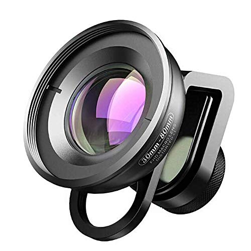 SYLOZ-URG HD Phone Lens Professional Camera Lens Kits, 3080mm Macro Lens for Most Smartphone SYLOZ-URG