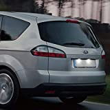 WXQYR 2 unids/Set lámpara de matrícula LED Blanca Trasera de Alto Brillo para Ford Fiesta Focus S-MAX C-MAX Grand Mondeo Kuga Galaxy