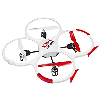 UDI RC 818A HD Drone Quadcopter with 720p HD Camera Headless Mode Return to Home Function and Batteries - White