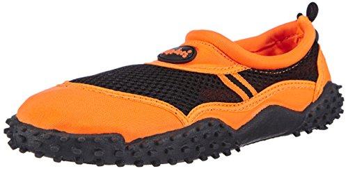 Playshoes Damen Surfschuhe Aqua-Schuhe, (orange 39), 37 EU