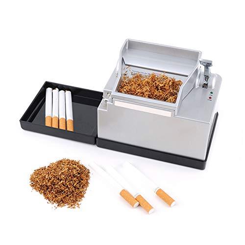 CRZJ Eléctrica para Liar Cigarrillos Máquina, Inicio De Fumar Rodando Aparatos De Máquinas para Los Hombres del Rodillo del Cigarrillo Eléctrico Automático Relleno De Tabaco